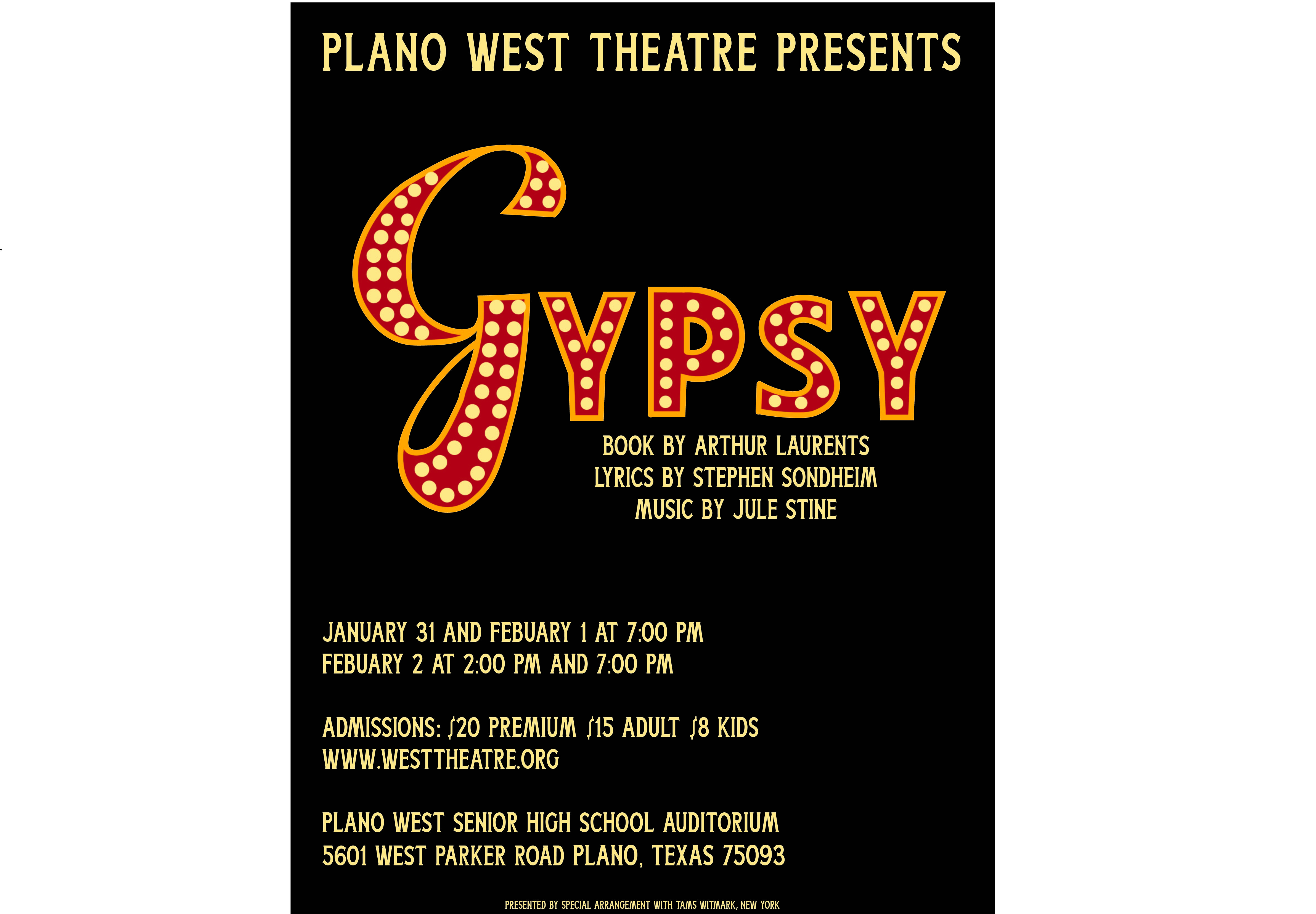Plano West Musical poster